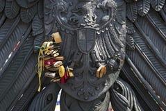 Lotti delle serrature di amore Fotografie Stock Libere da Diritti