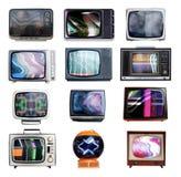 Lotti delle TV Immagine Stock