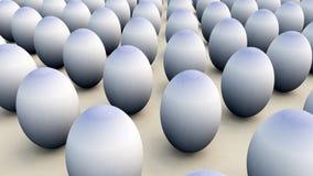 Lotti delle uova di Pasqua Immagini Stock Libere da Diritti