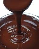 Lotti di cioccolato Fotografia Stock Libera da Diritti