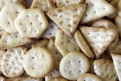 Lotti di mini backround dei cracker fotografie stock