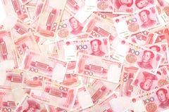 Lotti di Renminbi Fotografie Stock Libere da Diritti