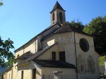 Lottigna's church. A little church in Lottigna Royalty Free Stock Images