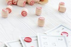 Lotto настольной игры Стоковая Фотография