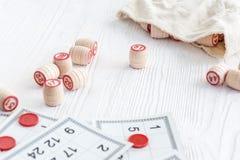Lotto настольной игры Стоковые Изображения