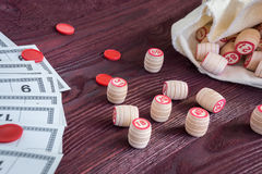 Lotto настольной игры Стоковые Фотографии RF