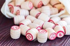 Lotto настольной игры Стоковое Фото