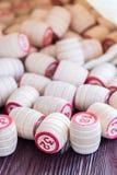 Lotto настольной игры Стоковое фото RF