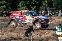 Lotto Baja Poland eight round of this year's FIA World Cup for Cross Country Rallies Stock Image
