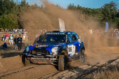 Lotto Baja Poland eight round of this year's FIA World Cup for Cross Country Rallies Stock Images