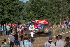 Lotto Baja Poland eight round of this year's FIA World Cup for Cross Country Rallies Royalty Free Stock Images