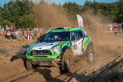 Lotto Baja Poland eight round of this year's FIA World Cup for Cross Country Rallies Stock Photography