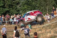 Lotto Baja Poland eight round of this year's FIA World Cup for Cross Country Rallies Royalty Free Stock Photos
