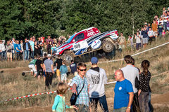 Lotto Baja Poland eight round of this year's FIA World Cup for Cross Country Rallies Stock Photo