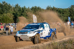 Lotto Baja Poland eight round of this year's FIA World Cup for Cross Country Rallies Royalty Free Stock Photo