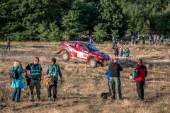 Lotto Baja Polen acht rond van FIA World Cup van dit jaar voor de Dwarsverzamelingen van het Land Royalty-vrije Stock Fotografie