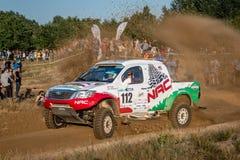 Lotto Baja Polen acht rond van FIA World Cup van dit jaar voor de Dwarsverzamelingen van het Land Royalty-vrije Stock Foto's