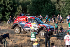 Lotto Baja Polen acht rond van FIA World Cup van dit jaar voor de Dwarsverzamelingen van het Land Stock Foto's