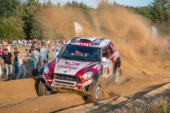 Lotto Baja Polen acht rond van FIA World Cup van dit jaar voor de Dwarsverzamelingen van het Land Stock Afbeeldingen