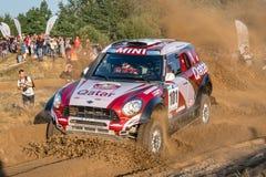 Lotto Baja Polen acht rond van FIA World Cup van dit jaar voor de Dwarsverzamelingen van het Land Stock Foto