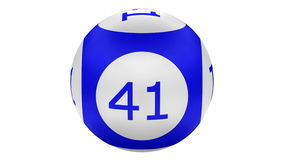 Lotto balls turn around. Kit 2 in 1. 3D rendering. Lotto. Kit 2 in 1. Lotto balls turn around. + Ball numbers 1 - 42 full frame. Loopable. Luma matte. 3D stock video footage