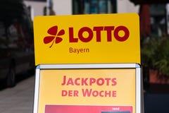 Lotto Baviera - Baviera Germania del lotto Fotografia Stock Libera da Diritti