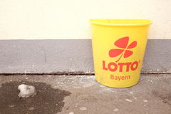 Lotto Bayern Arkivfoto