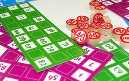Lotto Bingo Tombala Gambling Game Entertainment Royalty Free Stock Photos