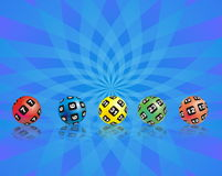 Lotto combination Royalty Free Stock Images