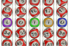 Lotto concept Royalty Free Stock Photo