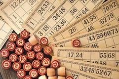 Lotto d'annata Immagini Stock Libere da Diritti