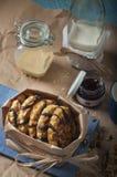 Lotto dei biscotti dell'arachide del pacchetto Immagini Stock Libere da Diritti