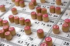 Lotto del gioco da tavolo Fotografie Stock Libere da Diritti
