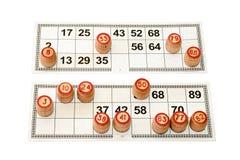Lotto del Russo del gioco Fotografie Stock Libere da Diritti