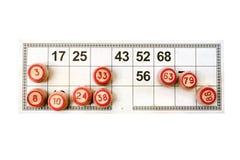 Lotto del Russo del gioco Fotografia Stock