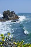 Lotto del tanah di Pura in Bali Fotografia Stock Libera da Diritti
