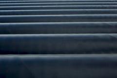 Lotto del tubo industriale Immagini Stock Libere da Diritti