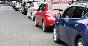 Lotto dell'automobile Fotografia Stock Libera da Diritti