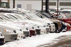 Lotto dell'automobile Immagini Stock Libere da Diritti