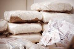 Lotto delle droghe Fotografia Stock Libera da Diritti