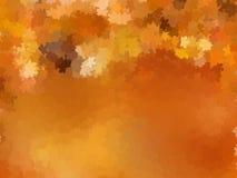 Lotto delle foglie di autunno dell'acero sulla terra. ENV 10 Immagine Stock Libera da Diritti
