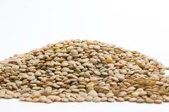 Lotto delle lenticchie Fotografia Stock Libera da Diritti