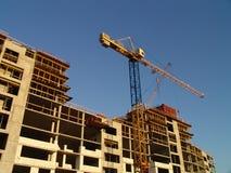 Lotto di costruzione Immagini Stock