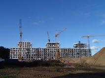 Lotto di costruzione Fotografia Stock Libera da Diritti