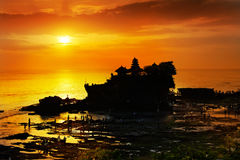 Lotto di Tanah, Bali Fotografia Stock Libera da Diritti