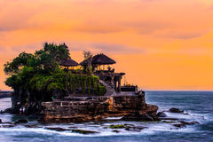 Lotto di Tanah, Bali Fotografie Stock