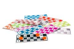Lotto- eller Bingoleklegitimationshandlingar Arkivfoton