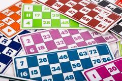 Lotto- eller Bingoleklegitimationshandlingar Arkivbild