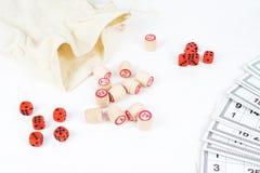 Lotto för brädelek Royaltyfria Bilder