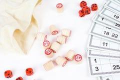 Lotto för brädelek Arkivfoton